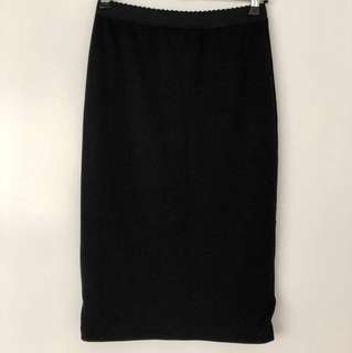 By Marlene Birger Black pencil skirt
