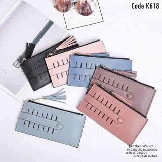Leather wallet size : 4*8 inches