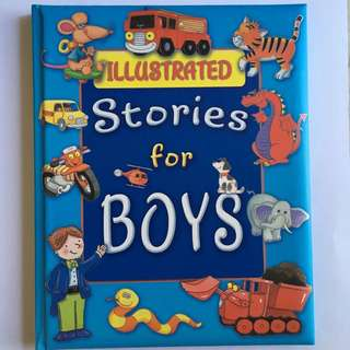 Illustrated Stories for Boys (Big Book)