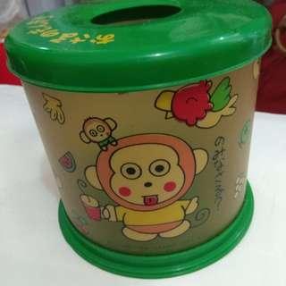 Sanrio 馬騮仔 卷裝厠纸桶