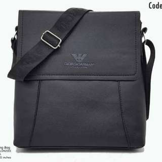Armani sling bag size : 10*11 inches