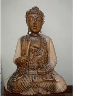 Buddha wooden handcrafted