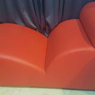 Preloved Red Sofa
