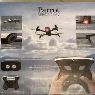 PARROT BEBOP 2 FPV 航拍 四軸直升機