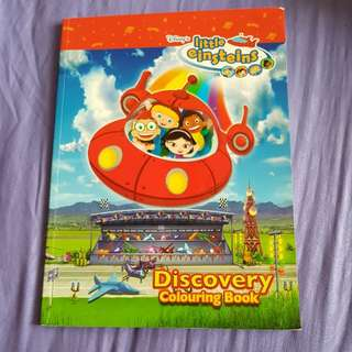 Disney's Little Einsteins : Discovery Colouring book