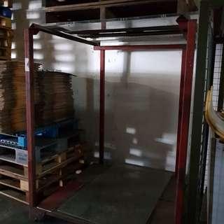 Industrial storage rack/organiser