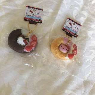 Hello Kitty Doughnut Squishies Licensed