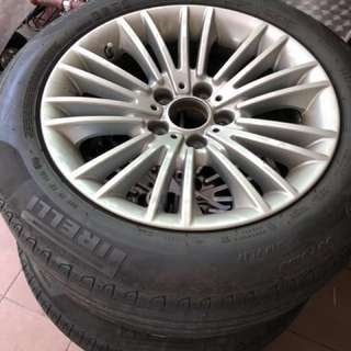 "BMW original 17"" rims with TPMS (Reduced price)"