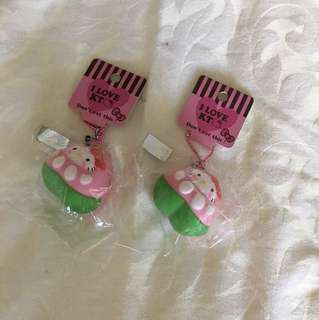 Scented Watermelon Hello Kitty Squishies