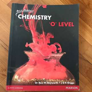 All About Chemistry O Level Textbook