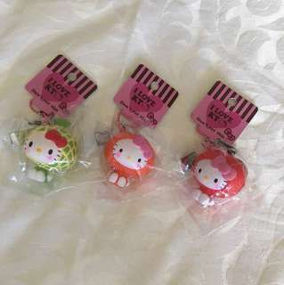 Hello Kitty Fruit Scene yes Squishies