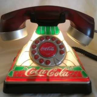 Coca Cola Light up Tiffany Phone