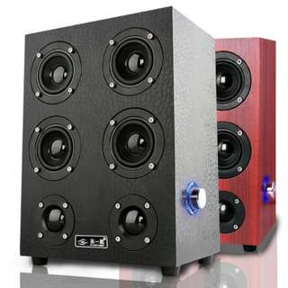 [In Stock] HPX7 The First Eye USB Speaker with Subwoofer