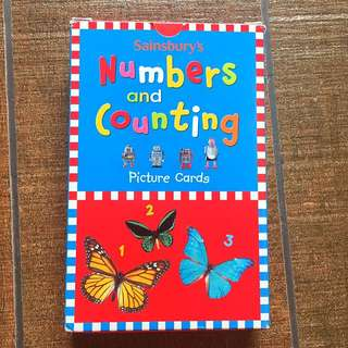Sainbury Picture Cards | Numbers and Counting