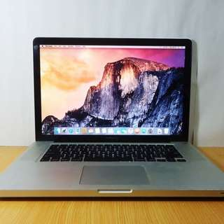 MacBook Pro 15 Inch 2010