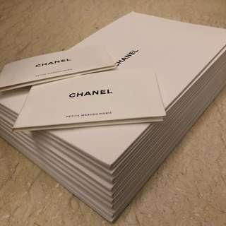 Chanel 隨袋附書 有塵布