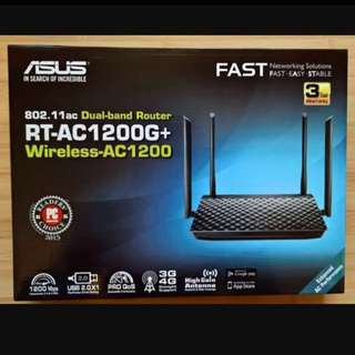 New ASUS RT-AC1200G+ Router for sell