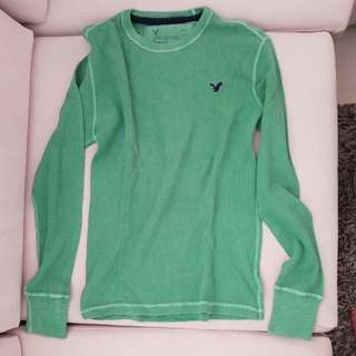 American Eagle Green Waffle Texture (XS)