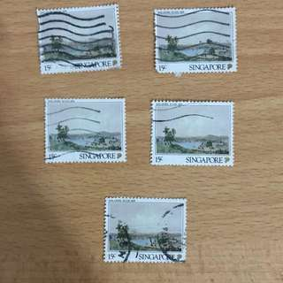 Singapore Stamps - Scenery