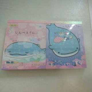 Jinbesan / Sumikko Gurashi mini notepads