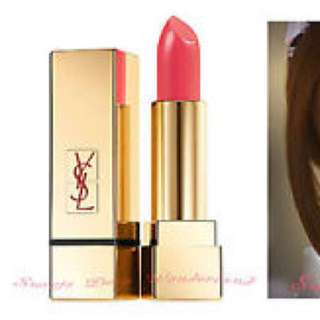 Brand New YSL YVES SAINT LAURENT #52 rose coral lipstick