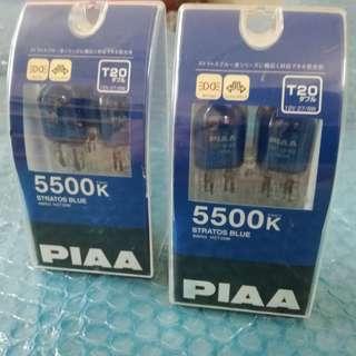 Piaa white bulb 5500k T20