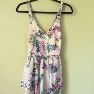 Floral Jumpsuit Sz 10-12