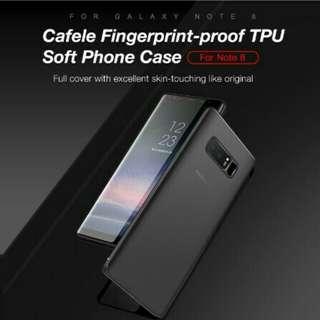 Soft Case Cafele Original samsung note 8 Matte TPU Ultrathin