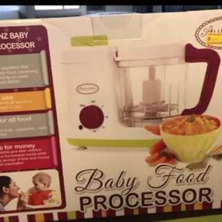 Baby food processor (steamer & blender)