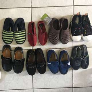 Pre loved baby boy's shoes