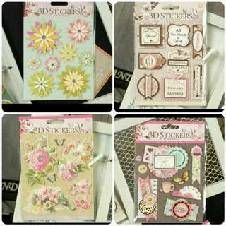 Clearance Sales - 3D Scrapbook Sticker by Enogreeting