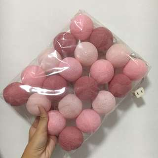 Pink Balls Lights