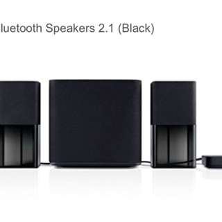Dell AC411 2.1 Bluetooth speakers