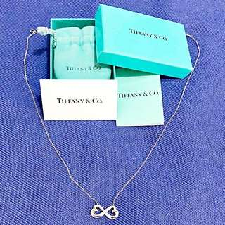Preloved Auth Tiffany & Co. Infinity Necklace