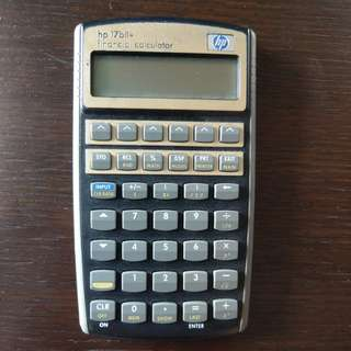 HP 17bii+ Calculator
