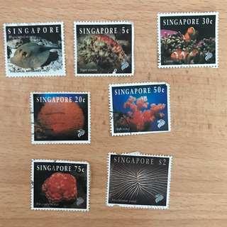 Singapore Stamps - Marine Life