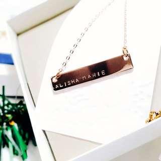 Rose Gold Necklace Sale !