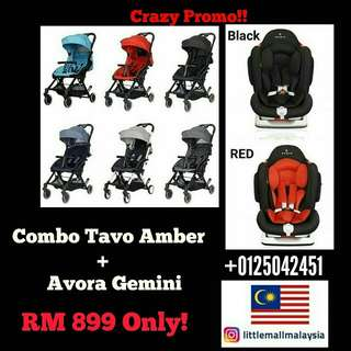 Stroller murah combo Tavo carseat