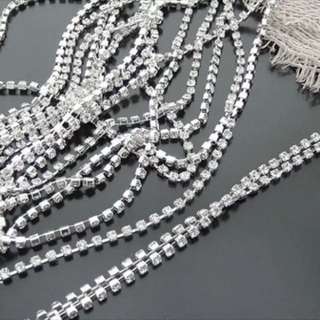 Rhinestones chains (1yard)
