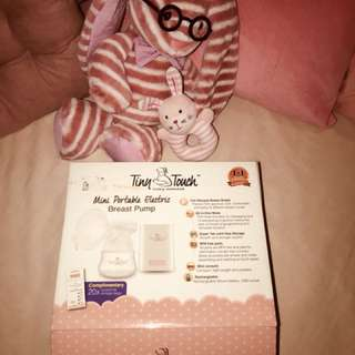 Tiny touch breast pump