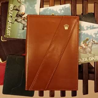 Rolex Notepad New Old Stock 勞力士