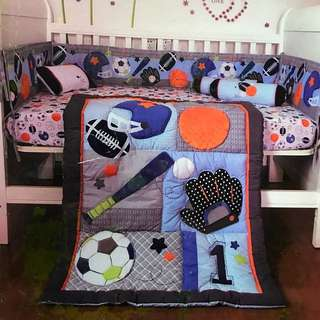 Baby Boy Bedding Set
