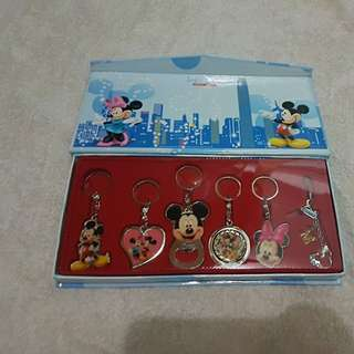 HK Disney Keychains