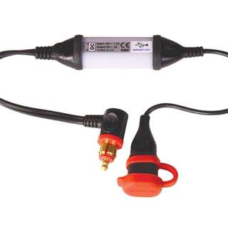 Optimate intelligent weatherproof USB charger