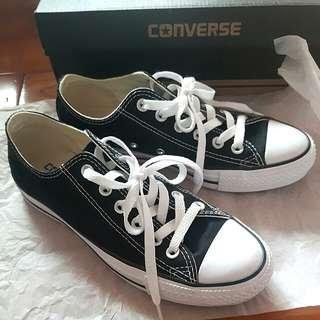 Converse M9166C 黑色低筒基本款帆布鞋 Chuck taylor all star
