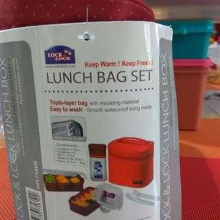 Lunch box lock & lock