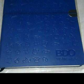 Planner/notebook bdo