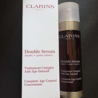 Clarins Double Serum [Hydric + Lipidic System]