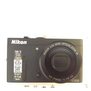 NIKON COOLPIX P310 FULLSET (RE-PRICE!)