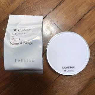 Laneige BB Cushion - No. 21 Natural Beige (OLD PACKAGING)